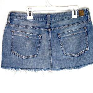 Guess Skirts - Guess jeans ultra mini jean skirt